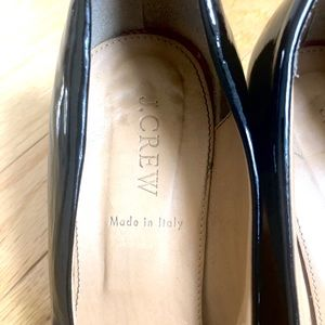 J. Crew Shoes - J. Crew Italy Martina Wedge black patent leather